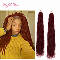 Wholesale janet braiding hair for sale - CHEAP INCH Island twist crochet hair extensions synthetic braiding hair senegalese zizi braids JANET COLLACTION faux locs braids crochet