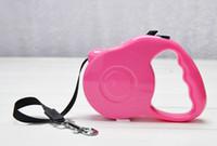 Wholesale Max Collar - Pet Accessories Series Dog supplies Retractable Dog Leash 3M length max tension 25 pounds 5 colors