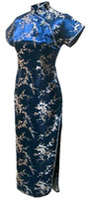 uzun cheongsam gece elbisesi toptan satış-Ücretsiz kargo Çin Tarzı Elbise Çin Qipao Elbise akşam elbise uzun Gelinlik cheongsam Çin geleneksel gelinlik Renkli