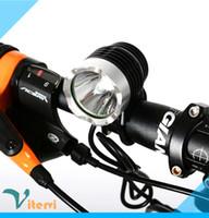 ingrosso luce spot normale-Luce LED per bici ad alta potenza CREE XML-T6 usb 5V led Lampada per bicicletta da corsa luce spot impermeabile IP67 Forte luminosità Normale luminosità Flashi