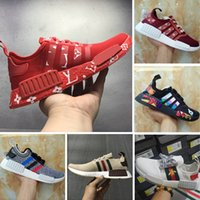 Wholesale Graffiti Box - With Box Casual Shoes 2017 Boost NMD R1 x Jointly and Kaws Graffiti Boost Running shoes Superior Quality