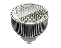 glühbirne großhandel-Flossenoberteil OBJEKTIV ABDECKUNG E40 PAR64 60w 60 * 1w führte Gleichheitslicht / geführte Birne der Lampe par64, geführte Scheinwerfer