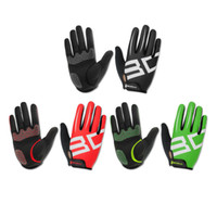 Wholesale Mountain Bike Full Finger Green - 1 Pair Boodun Breathable Non-Slip Bike Full Finger Gloves Cycling Road Mountain Bike Bicycle MTB Outdoor Sports Gloves Hot Sale
