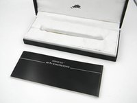 Wholesale Gift Pen Pencil - High Quality Black Pen Box  Brand Suit For A Pen For NEW Gift Free Shipping