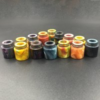 Wholesale Mouthpiece For Ecigarette - Ecigarette TFV8 Drip Tips Epoxy Resin Drip Tips For TFV8 Atomizer Tank Cloud Beast Tank Full Kit Mods 510 Mouthpiece