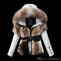Wholesale Cheap Hoodies Woman - Fashion Winter Down Jackets Warm Women m Cold Slim Hoodies with fur Short Brand Designer monclar ladies Outdoor Outwear Coat Cheap Sale