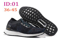 Wholesale Socks Designs Shoes - 2016 Newest Design Ultra Boost Uncaged Running shoes,Fashion Comfort sports athletics walking training Basketball socks Shoes Sneakers