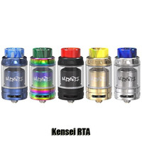 Wholesale compatible systems - 100% Original Vandyvape Kensei RTA Atomizer Vandy Vape 2 4ml Bottom Honeycomb Airflow System Tank Compatible With 810 And 510 Drip Tip