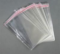 прозрачные самоклеящиеся полиэтиленовые пакеты оптовых-Ясные Resealable целлофан / Bopp / Поли мешки прозрачный мешок Opp пакуя полиэтиленовые пакеты уплотнение 4*6cm собственной личности пластичное ,6*10cm,14*16cm, 1000