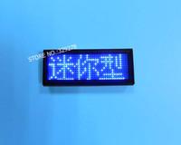 ingrosso segni di visualizzazione aziendale-Etichetta a LED programmabile ricaricabile