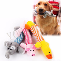 Wholesale Pet Accessories Toy - Dog Cat Pet Chew Toys Canvas Durability Vocalization Dolls Bite Toys for Dog Accessories pet dog products