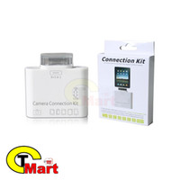 Envio Atacado-Free USB 5 Em Connection Kit 1 Camera TF adaptador SD Reader para iPad 2 3 Novo