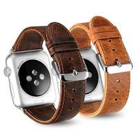 samsung-armband großhandel-Für Apple Watch Strap 1 2 3 Generation Samsung Getriebe S3 Fitbit Blaze Chang 2 Alta Lederarmband Armband Tracker Smart Watch