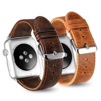 ingrosso tracker gear-Per Apple Watch Strap 1 2 3 Generazione Samsung Gear S3 Fitbit Blaze Chang 2 Alta Cinturino in pelle cinturino Tracker Smart Watch
