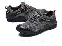 Wholesale Good Insoles - Summer Men outdoor casual shoes high quality mesh top MD insole Recommend cheap and good hiking shoes
