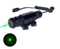 Wholesale Green Dot Laser Pistol - Free Shipping laser scope Tactical Hunting Adjustable 5mw Green Laser Dot Sight Scope with Mounts for For Pistol Gun Rifle Black
