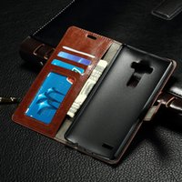 Wholesale G3s Black - For LG G3Mini D722 G3S Luxury Wallet Leather Flip Case With Card Slots Stand function for LG
