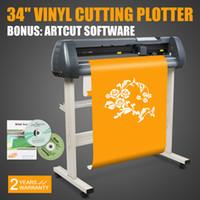 "Wholesale Vinyl Plotter Cutter - 34 Inch VINYL CUTTER SIGN CUTTING PLOTTER 34"" Vinyl Cutter Sign Cutting Plotter W Artcut Software Design Cut Hot sales"