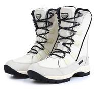 930b054f15b2 Frauen Wasserdichte Schnee Stiefel Isolierte Winter Warme Martin Boot  Bergsteigen Wandern Ski Sport Outdoor Schuhe Anti Skid Lace-up