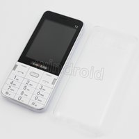 "Wholesale h ebook - Cheapest 100 H-Mobile T2 2.8"" Mobile Phone Dual Sim Quad Band 2G GSM Phone Unlocked Back Camera + Flashlight Bluetooth FM MP3 Free shipping"