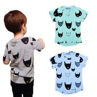 Wholesale Boys Batman Clothing - Retail 2016 Brand Summer Kids Tshirt Cartoon Baby Clothes Batman Printed Short Sleeves Boys Girls T-shirts High Quality Children Clothing