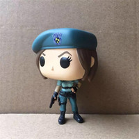 Wholesale Resident Evil Figures - 170620 QIUCHANY FUNKO POP 155# Resident Evil Jill Valentine PVC 10cm Action Figure Toy Model Anime Figure