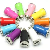 Wholesale iphone4 chargers - Wholesale 200pcs lot mini usb car charger adapter for iphone4 4s 5 ipad 1 2 mobile phone mp3 mp4