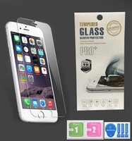 Wholesale Top Iphone Screen Protectors - For IPhone 8 7 6 6s Plus Tempered Glass Top Quality Best Price 2.5D 9H Screen Protector Film Ship within 3 days