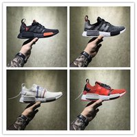 Wholesale Hongkong Gold - Perfect Boost NMD Shoes Red Apple HongKong Vlone Black Zebra BY3013 BB4297 BY1905 NMD R1 Real Boost Men Women Running Shoes Sports Sneakers
