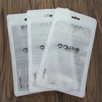 Wholesale Transparent Zip Lock Bags - Zip Lock Bags Zipper Retail Package Clear Transparent Bag Cell Phone case for iPhone X 8 7 Samsung S8 Case Plastic Packing Bags