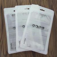 handys pakete großhandel-Zip-Verschluss-Taschen Reißverschluss-Kleinpaket-freier transparenter Beutel-Handykasten für iPhone X 8 7 Samsung S8 Fall-Plastikverpackungs-Taschen