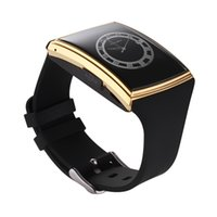 Wholesale control surfaces - Wholesale- new Lg518 smart watch 3D curved surface IPS high Bluetooth3.0 NFC Support Sim TF Card Pedometer Sleep Monitor Waterproof Smart