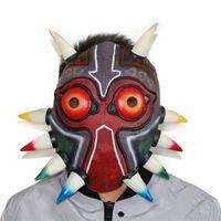 Wholesale Legend Zelda Accessories - The Legend of Zelda Majora's Mask Halloween Scary Mask Cosplay Dress Up New Props Free Shipping