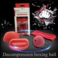 Wholesale Fitness Equipment Design - Decompression Boxing Ball Simple design Boxing Gym Equipment Super for Training and Fitness Revolution in boxing for 2017 newest toy