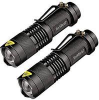 beste werkzeuge für camping großhandel-2017 Rockbirds LED Taschenlampe, A100 Mini Super Helle 3 Modus Taktische Taschenlampe, Beste Werkzeuge für Wandern, Jagd, Angeln und Camping