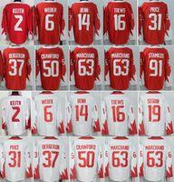 Wholesale Army Cup - 2016 WCH 31 Carey Price World Cup Jerseys Ice Hockey 16 Jonathan Toews 14 Jamie Benn 37 Patrice Bergeron 91 Steven Stamkos 2 Duncan Keith