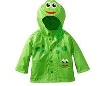 frosch baby kleidung großhandel-Mädchen-Frosch-Regenmantel Mädchen Verbesserte Strahlen-Frosch-Regen Slicker Baby-Regenmäntel Kinder Mantel Mädchen-Kleidung Mädchen Outwear TL 001