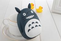 Wholesale Totoro Phone - Power Bank 12000mah Totoro Cute Power Bank Phone External Battery Charger Bankpower Powerbank for Christmas Gift