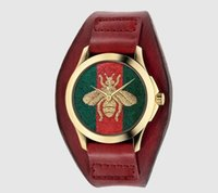 Wholesale relojes women online - 2018 Super AAAA Casual watch Famous Brand Quartz Watch Women khaki Leather Band Wrist Watches Relojes Montre Homme Erkek Kol Wristwatch