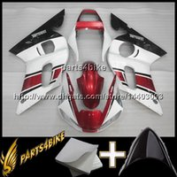Wholesale 99 r6 body kit for sale - Group buy 23colors Gifts YZF R6 PINK BLACK ABS Plastic Bodywork Set Body Kit Fairing for Yamaha YZF R6