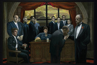 """Wholesale Poster Scarface - Home Decor Wall Sticker 20"""" X 30"""" HD Poster, New Brand The Godfather and Scarface Mafia Gangsters Poster Room Decor Sticker"""