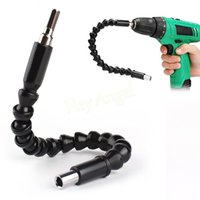 Wholesale Drill Flexible - Auto Motorcycle New Black Connecting Link For Electronic Drill Flexible Connection Shaft Free Shipping Car Repair Tools