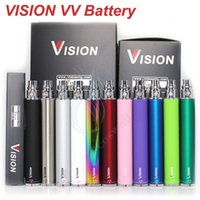 Wholesale Ego C Battery New - New Vision Spin Ego twist battery e cigarette ego c vv battery 1300mAh 1100mAh 900mAh 650mAh Variable Voltage 3.3-4.8V cigs ego atomizer DHL