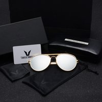 Wholesale Hottest South Korean Women - Free Shipping Hot Selling Cheap Price High Quality2016 New South Korean V-Shaped Sunglasses Men Sunglasses Tide Thick Metal-Rimmed Glasses