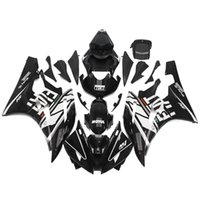Wholesale R6 Fairing Kit Fiat - Fairings For Yamaha YZF600 YZF R6 06 07 YZF-R6 2006 2007 Injection ABS Motorcycle Fairing Kit Motorbike Cowling FIAT White Black Full Covers