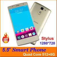 """Wholesale Gsm Phone Cases - Cheapest Quad Core 3G Smart phone 5.5"""" IPS screen 1280*720 Android 5.1 512MB 8GB Android 5.1 Dual Cam SIM GSM WCDMA Unlocked + case 50pcs"""