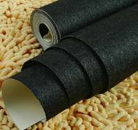 Wholesale Embossed Silk Fabric - Wholesale- Solid color black and gold wallpaper silk fabric wall paper for livingroom bedingroom wallpaper rolls for wall