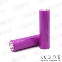 Wholesale Hd2 Battery - 2pcs 18650 vape pen battery HD2 3.6v Li-ion rechargeable battery 2000mah 18650 power tools battery for mod box kit