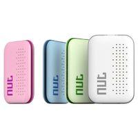 etiquetas de la manzana al por mayor-Nut mini 3 Smart Finder Tracker Localizador de alarmas Bluetooth para niños Equipaje para mascotas Monedero Teléfono Key Anti Lost Reminder Tag iTag nut 2