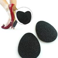 adhesivos para suelas de zapatos al por mayor-DHL Libre 500 par = 1000 unids Antideslizante Pad Shoe Ground Grips Almohadillas Suelas Stick Autoadhesivo Antideslizante Protector de suela de goma Antideslizante Bajo